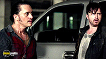 A still #7 from Triple 9 (2016) with Clifton Collins Jr. and Aaron Paul