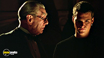 A still #5 from Batman Forever (1995) with Chris O'Donnell and Michael Gough