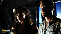A still #3 from Killjoys: Series 1 (2015) with Aaron Ashmore and Hannah John-Kamen