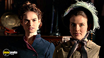 A still #6 from Pride and Prejudice and Zombies (2016) with Aisling Loftus and Lily James