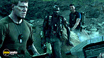 A still #9 from Halo: Nightfall (2014) with Steven Waddington, Mike Colter and Christian Contreras