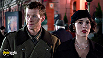 A still #8 from Company of Heroes (2013) with Chad Michael Collins and Melia Kreiling