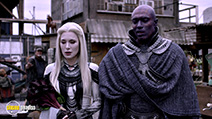 A still #1 from Defiance: Series 3 (2015) with Jaime Murray and Conrad Coates