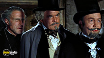 A still #6 from The Curse of the Werewolf (1961) with Clifford Evans, Peter Sallis and John Gabriel