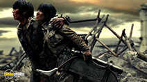 A still #7 from Attack on Titan: Part 2 (2015) with Kiko Mizuhara and Haruma Miura