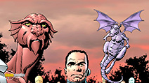 A still #9 from Astonishing X-Men: Unstoppable (2009)