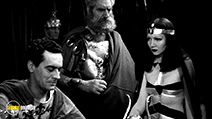 A still #9 from Cleopatra (1934) with Claudette Colbert and C. Aubrey Smith