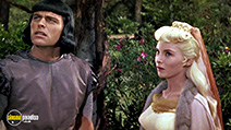 A still #4 from Prince Valiant (1954) with Robert Wagner and Janet Leigh