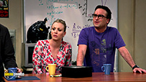A still #5 from The Big Bang Theory: Series 9 (2015) with Johnny Galecki and Kaley Cuoco