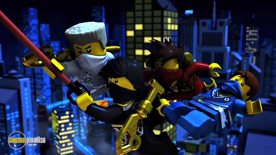 Lego Ninjago: Masters of Spinjitzu: Series 3: Part 1 online DVD rental