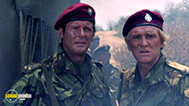 A still #4 from The Wild Geese (1978) with Richard Harris and Roger Moore