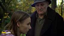 A still #7 from Symptoms (1974) with Peter Vaughan and Angela Pleasence