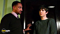 A still #3 from Bates Motel: Series 4 (2016) with Freddie Highmore and Damon Gupton