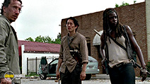 A still #2 from The Walking Dead: Series 6 (2016) with Danai Gurira
