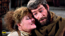 A still #2 from The Lion in Winter (1968) with Katharine Hepburn and Peter O'Toole