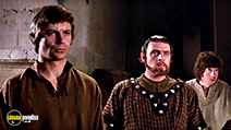 A still #1 from The Lion in Winter (1968) with Anthony Hopkins, Nigel Terry and John Castle