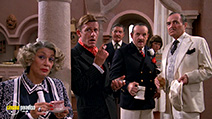 A still #1 from Evil Under the Sun (1982) with James Mason, Roddy McDowall, Colin Blakely, Sylvia Miles, Denis Quilley and Emily Hone