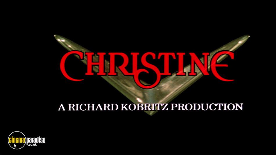 Christine online DVD rental