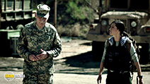 A still #1 from Sniper: Special Ops (2016) with Dale Dye and Charlene Amoia