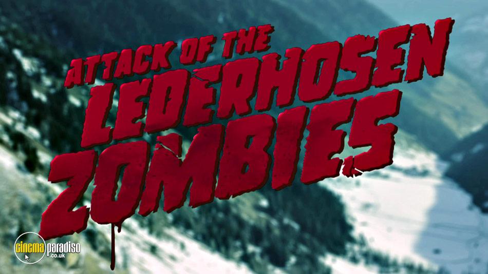 Attack of the Lederhosen Zombies (aka Alpine Zombie Project) online DVD rental