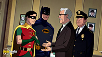 A still #55 from Batman: Return of the Caped Crusaders (2016)