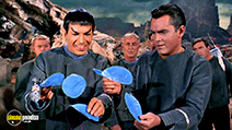 A still #2 from Star Trek: The Original Series: Origins (1988) with Leonard Nimoy, Jeffrey Hunter and John Hoyt