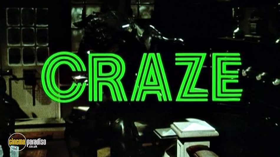 Craze (aka Demon Master / The Infernal Idol) online DVD rental