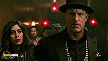 A still #8 from Now You See Me 2 (2016) with Woody Harrelson and Lizzy Caplan