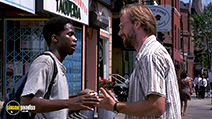 A still #8 from Smoke (1995) with William Hurt and Harold Perrineau
