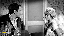 A still #4 from The Small World of Sammy Lee (1963) with Julia Foster and Anthony Newley