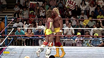 A still #39 from WWE: Ultimate Warrior: Always Believe (2015)