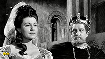 A still #1 from Hamlet (1948) with Eileen Herlie and Basil Sydney