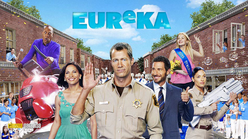 A Town Called Eureka online DVD rental