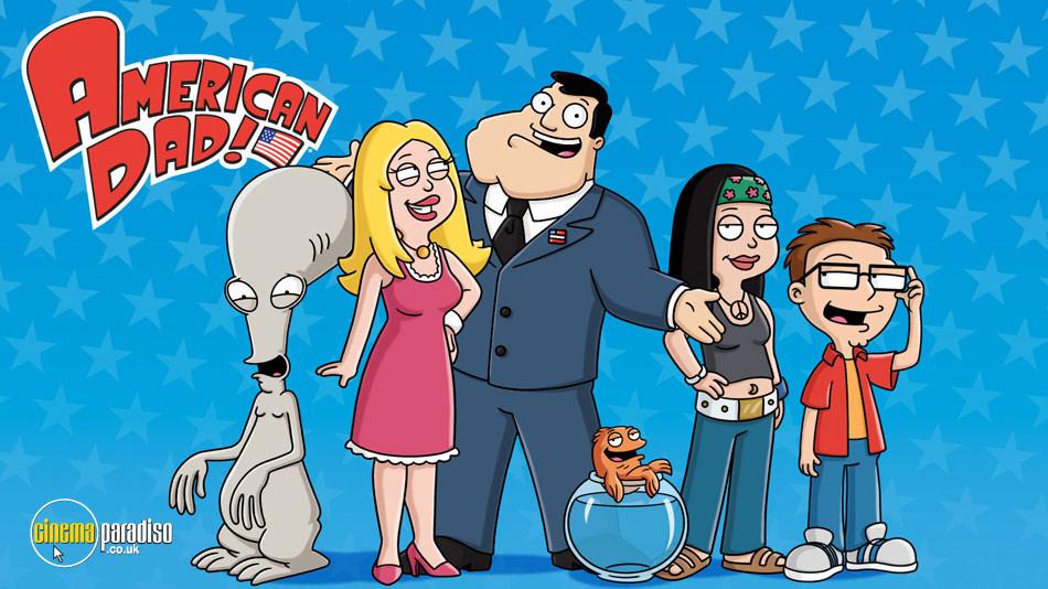 American Dad! online DVD rental