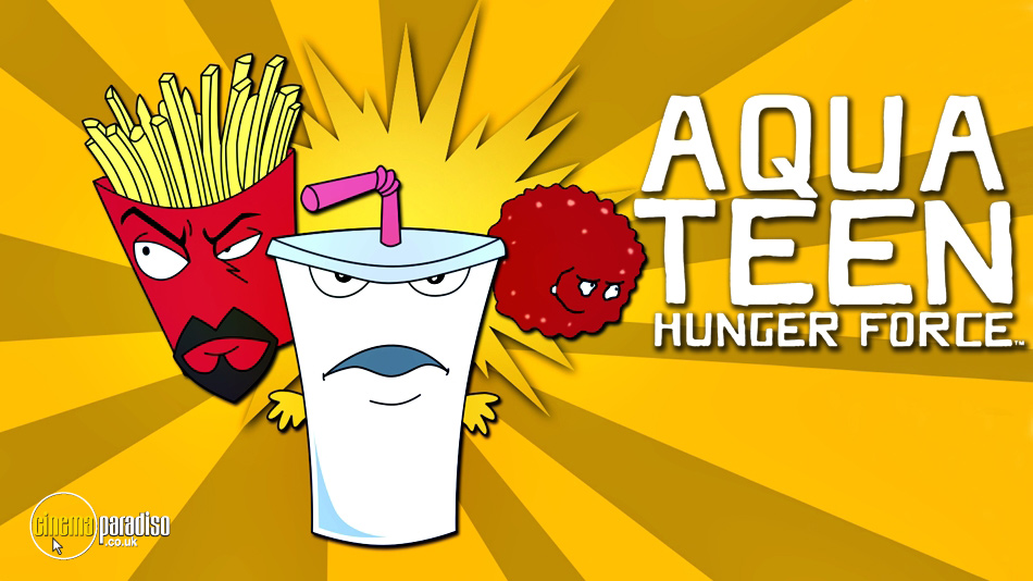 Aqua Teen Hunger Force Series online DVD rental