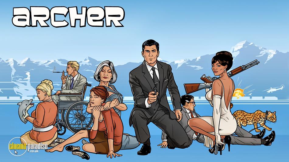 Archer online DVD rental