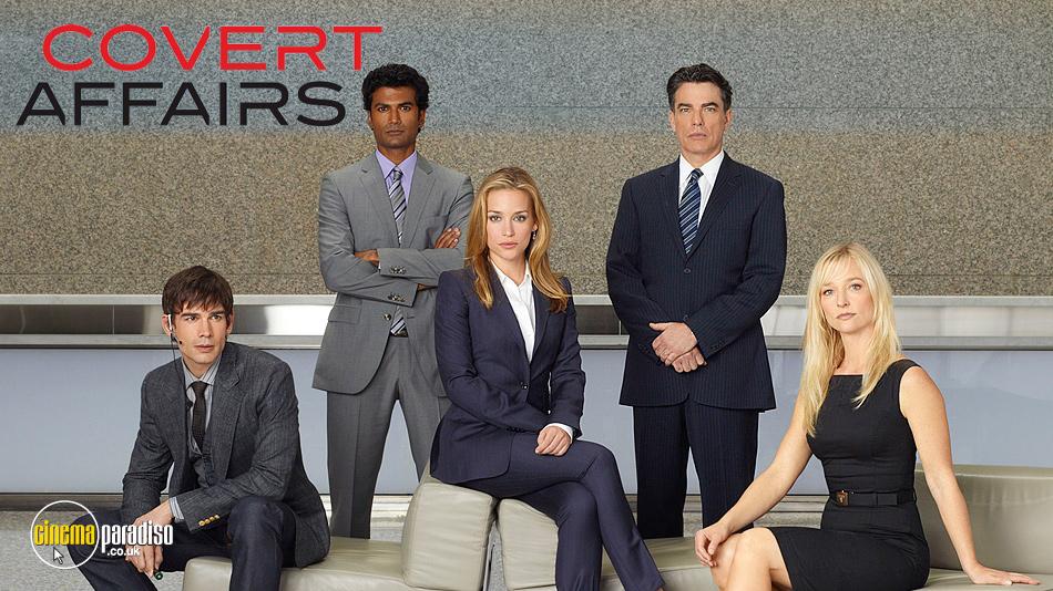 Covert Affairs online DVD rental