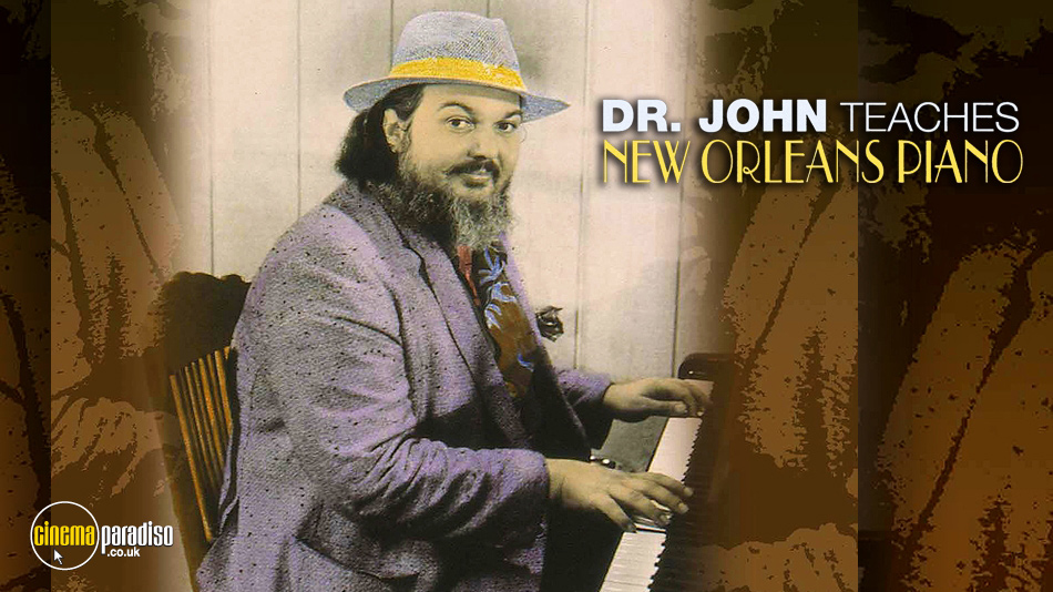Doctor John Teaches New Orleans Piano online DVD rental