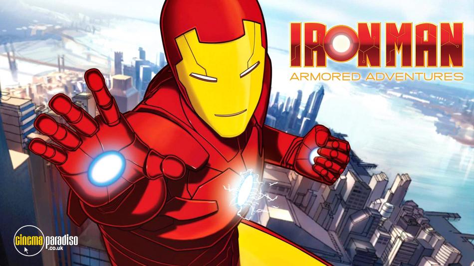 Iron Man Armoured Adventures online DVD rental