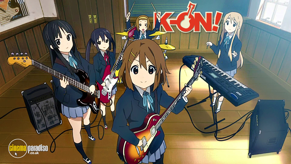 K-ON! online DVD rental