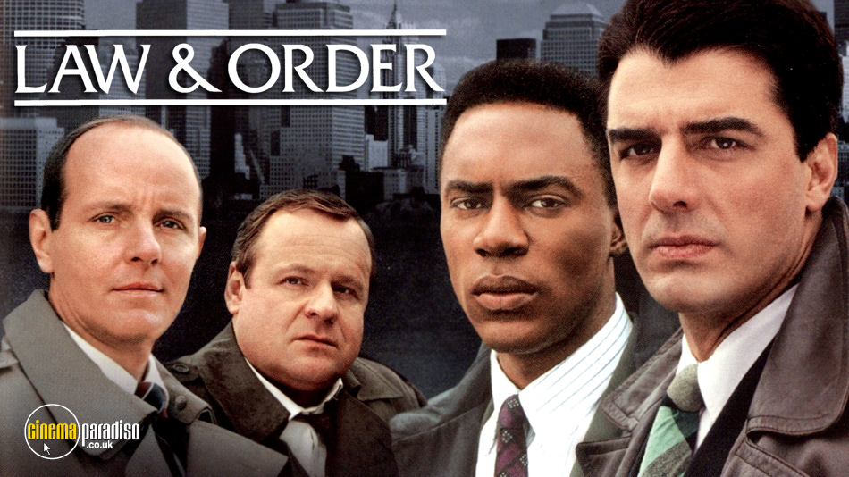 Law and Order online DVD rental
