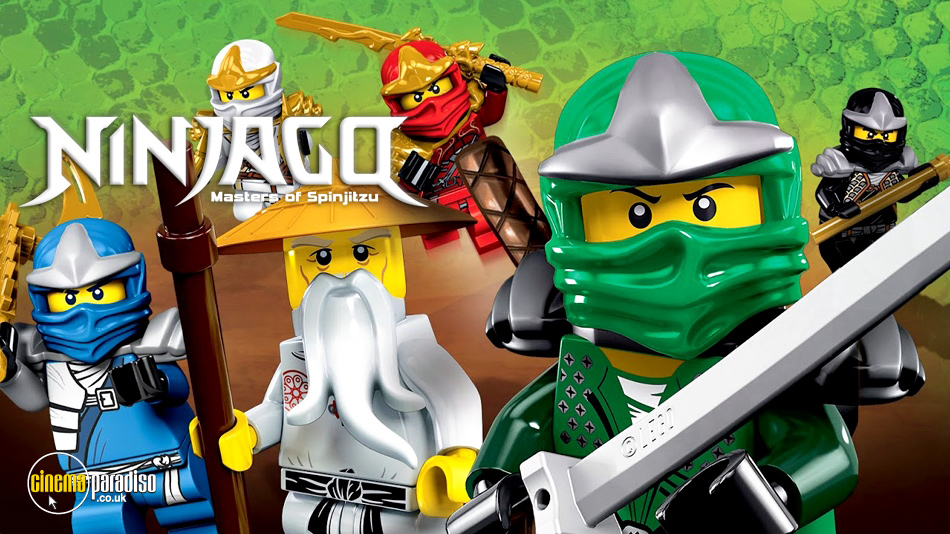 Lego Ninjago Masters of Spinjitzu online DVD rental