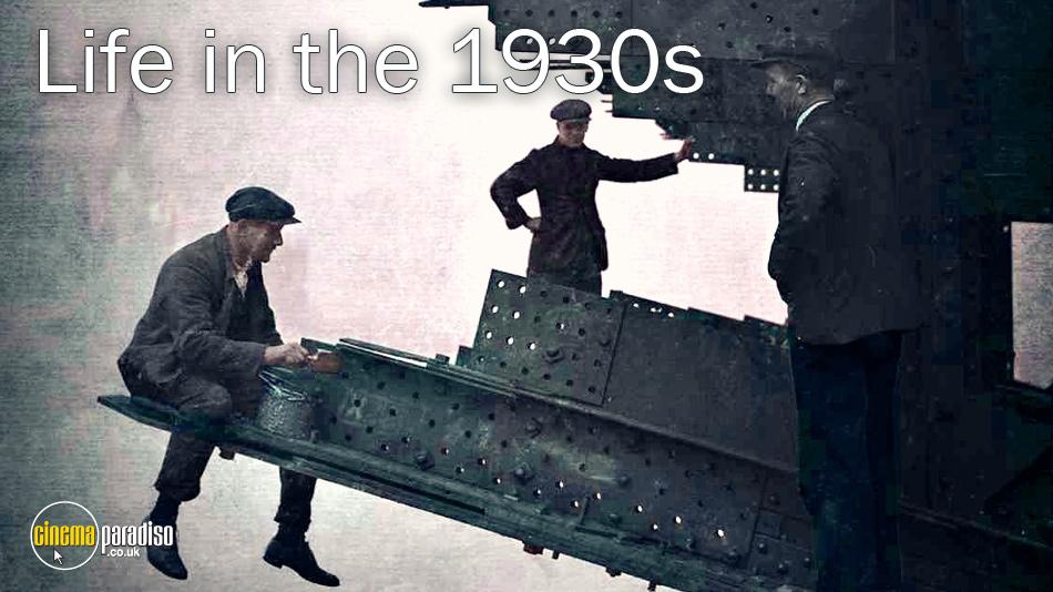Life in the 1930s online DVD rental
