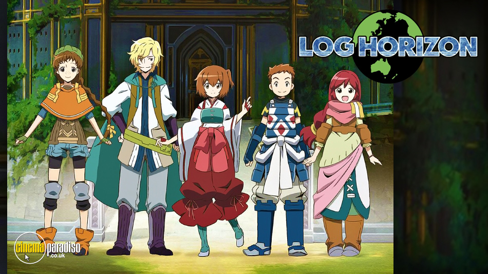 Log Horizon online DVD rental