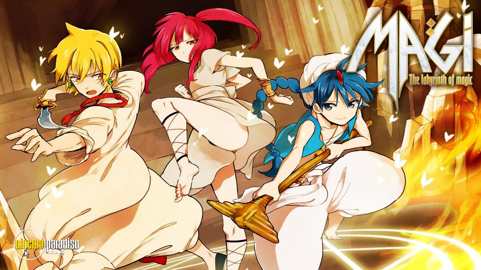 Magi: The Kingdom of Magic online DVD rental