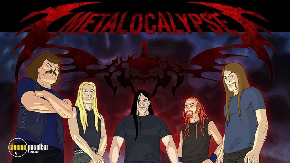 Metalocalypse online DVD rental