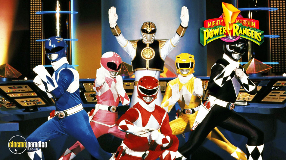 Mighty Morphin Power Rangers online DVD rental