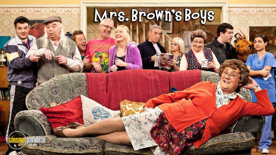 Mrs. Browns Boys online DVD rental