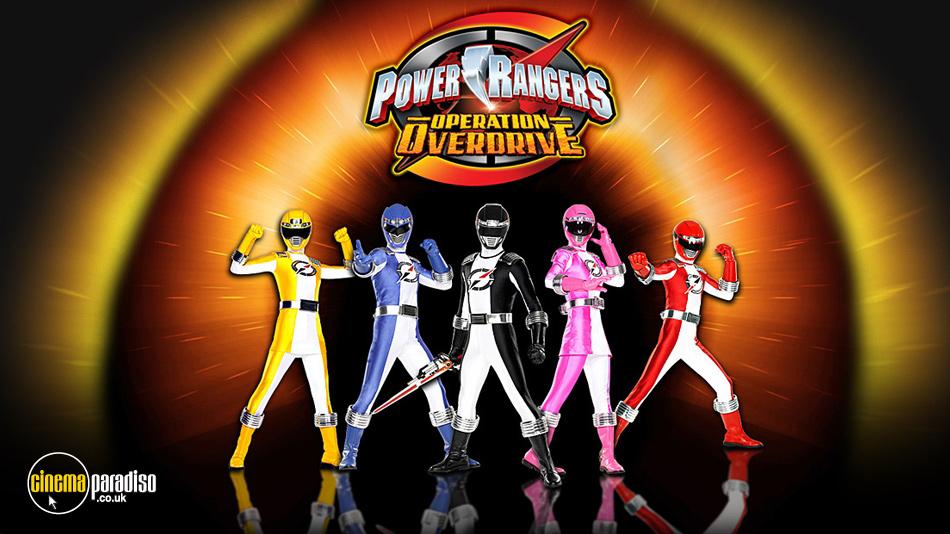 Power Rangers Operation Overdrive online DVD rental