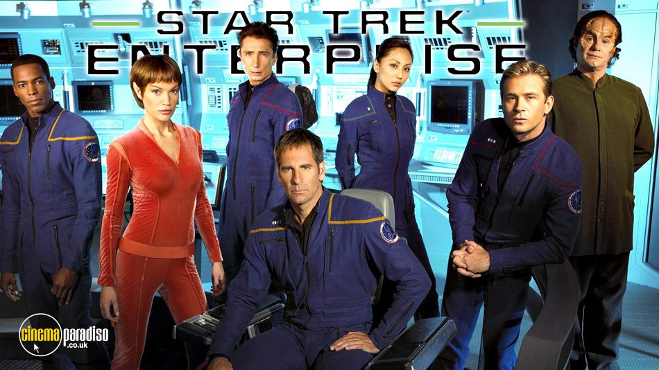 Star Trek Enterprise online DVD rental